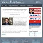Manuel Roig-Franzia's Web site