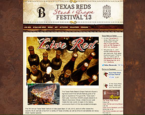 Texas Reds Steak and Grape Festival