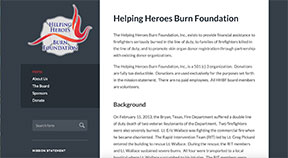 helping heroes burn foundation