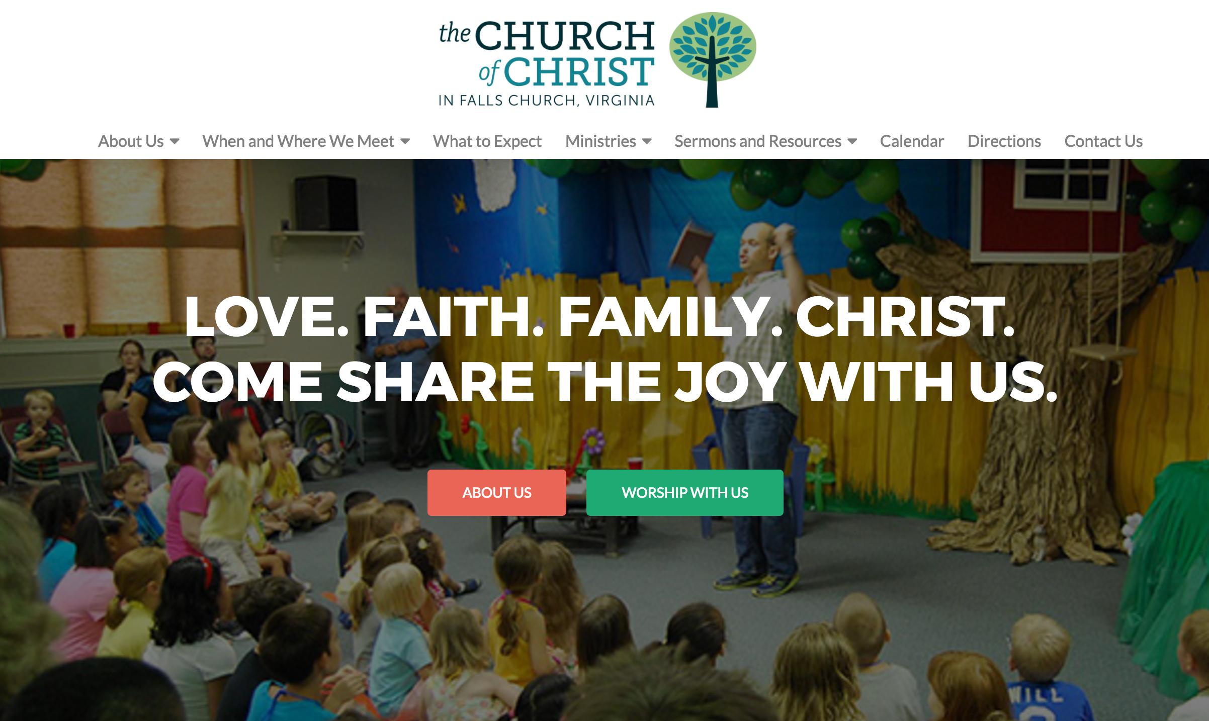 Church of Christ in Falls Church, Va.